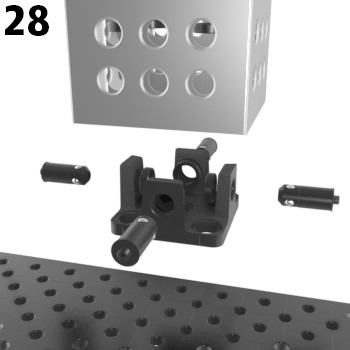 28 Adapter Tischanbindung