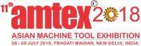 logo AMTEX - Asian Machine Tool Exhibition